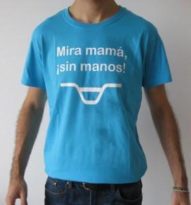 camiseta bici mira mama